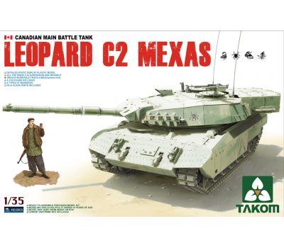 Leopard C2 MEXAS масштаб 1:35 Takom TAK2003, фото 1