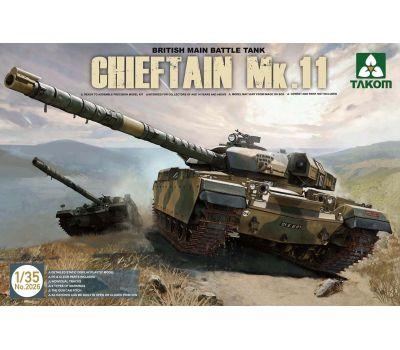Британский основной танк Chieftain Mk.11 масштаб 1:35 Takom TAK2026, фото 1