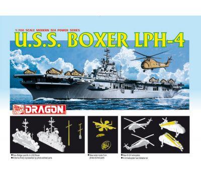 Вертолетоносец USS BOXER LPH-4 масштаб 1:700 Dragon 7070D, фото 1