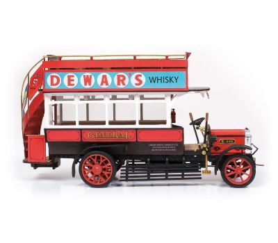 Модель автобуса DENNIS Bus B-Type масштаб 1:24 OC57000-рус, фото 3
