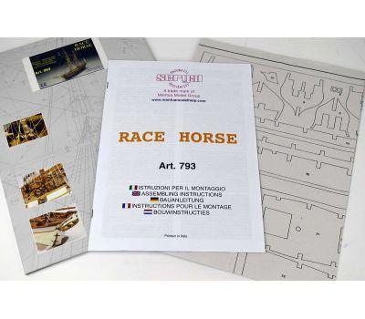 Чертеж корабля Race Horse масштаб 1:47 MA963, фото 4