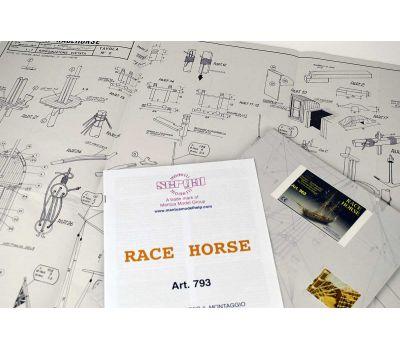 Чертеж корабля Race Horse масштаб 1:47 MA963, фото 1