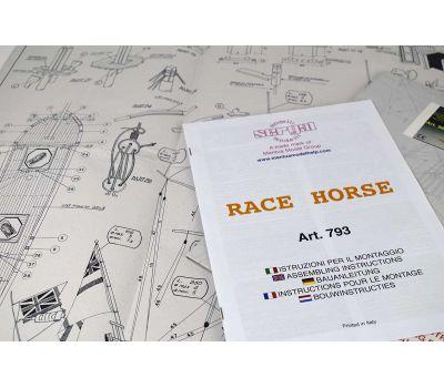 Чертеж корабля Race Horse масштаб 1:47 MA963, фото 2