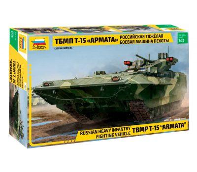 Российская тяжелая боевая машина пехоты ТБМПТ Т-15 Армата масштаб 1:35 ZV3681, фото 1