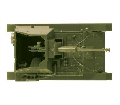 Советская САУ СУ-76М масштаб 1:100 ZV6239, фото 4