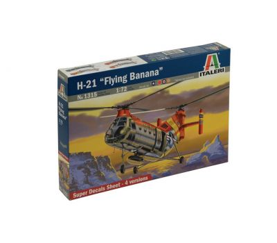 Вертолет H-21 Flying Banana масштаб 1:72 Italeri IT1315, фото 2