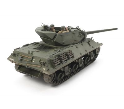 Американская самоходка Tank Destroyer M10, с 3 фигурами масштаб 1:35 Tamiya 35350, фото 3