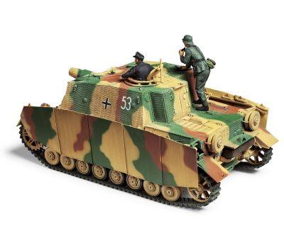 Sturmpanzer IV BRUMMBAR, поздняя версия  с 2 фигурами масштаб 1:35 Tamiya 35353, фото 2