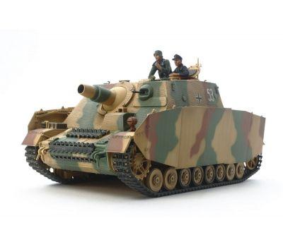 Sturmpanzer IV BRUMMBAR, поздняя версия  с 2 фигурами масштаб 1:35 Tamiya 35353, фото 4