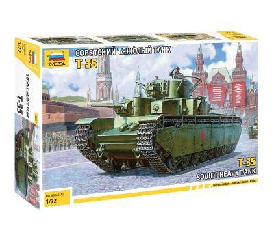 Советский тяжелый танк Т-35 масштаб 1:72 ZV5061, фото 1