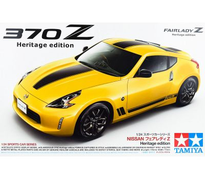 Nissan 370Z Heritage edition масштаб 1:24 Tamiya 24348, фото 2