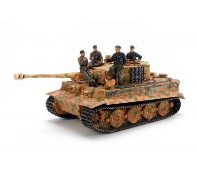 Немецкий танк Tiger I Late Version с экипажем масштаб 1:35 Tamiya 25401, фото 2