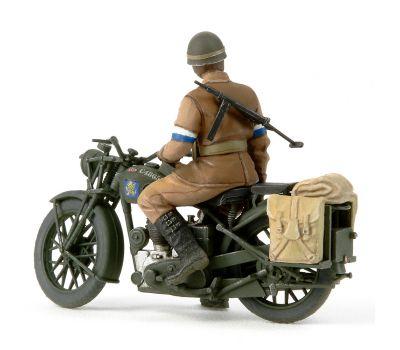 Английские полицейские (2 фигуры) с мотоциклом BSA M20 масштаб 1:35 Tamiya 35316, фото 4