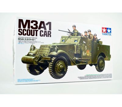 M3A1 SCOUT CAR с 5 фигурами советских солдат масштаб 1:35 Tamiya 35363, фото 1