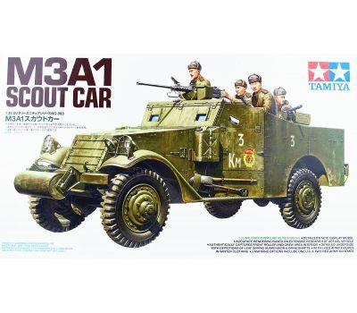 M3A1 SCOUT CAR с 5 фигурами советских солдат масштаб 1:35 Tamiya 35363, фото 2