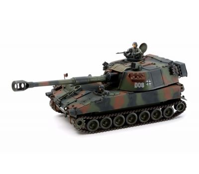 Немецкая САУ M109A3G BUNDESWEHR с фигурой командира масштаб 1:35 Tamiya 37022, фото 2
