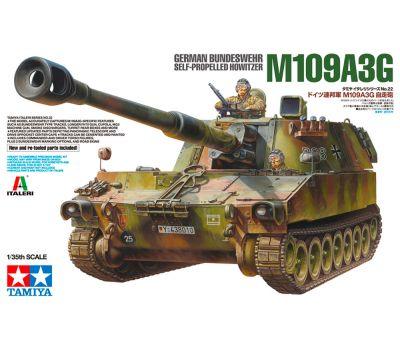 Немецкая САУ M109A3G BUNDESWEHR с фигурой командира масштаб 1:35 Tamiya 37022, фото 1