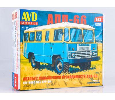 Автобус повышенной проходимости АПП-66 (KIT) металл масштаб 1:43 4019AVD, фото 1