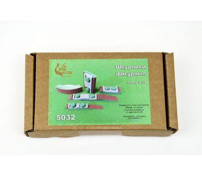 Миниатюрные фигурные шкурники, 5 штук C5032, фото 7