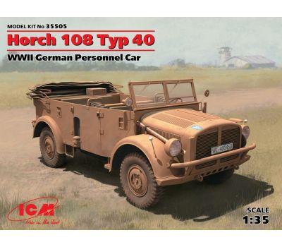 Horch 108 Typ 40 масштаб 1:35 ICM35505, фото 1