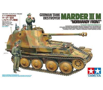 Немецкая САУ MARDER III M, Нормандия, с 5 фиг. и фототравл., 1:35, Tamiya 35364, фото 1