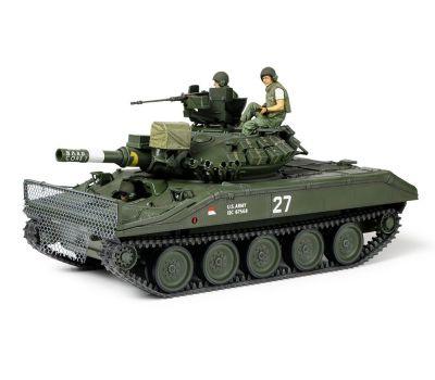 M551 Sheridan, Вьетнам, с 3 фигурами масштаб 1:35 Tamiya 35365, фото 11