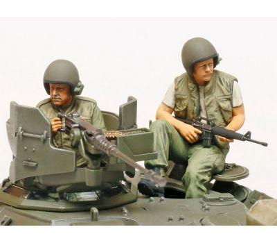 M551 Sheridan, Вьетнам, с 3 фигурами масштаб 1:35 Tamiya 35365, фото 3