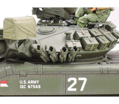M551 Sheridan, Вьетнам, с 3 фигурами масштаб 1:35 Tamiya 35365, фото 5