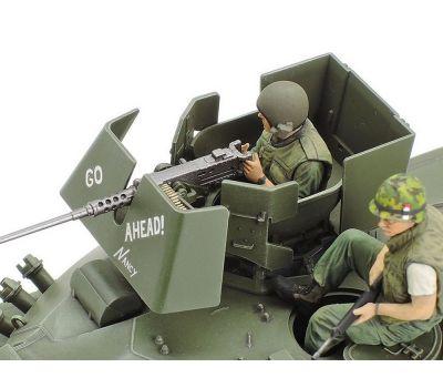 M551 Sheridan, Вьетнам, с 3 фигурами масштаб 1:35 Tamiya 35365, фото 6