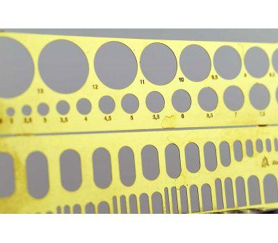 Лекало для нанесения расшивки №3 Микродизайн MDN100204, фото 2