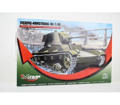 Vickers-Armstrong Mk F/45 масштаб 1:35 Mirage Hobby MH355011, фото 1