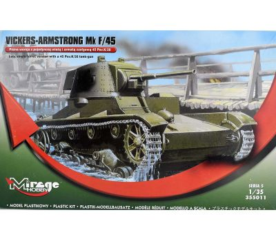 Vickers-Armstrong Mk F/45 масштаб 1:35 Mirage Hobby MH355011, фото 2