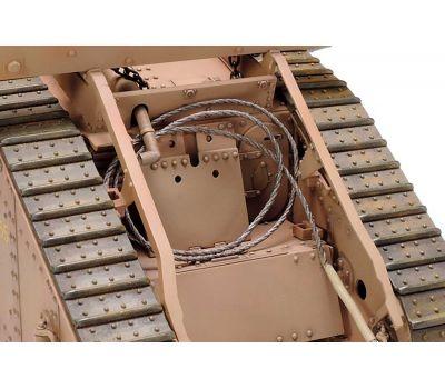 Английский танк Mk.IV Male с 5 фигурами, в комплекте моторчик с редуктором масштаб 1:35 Tamiya 30057, фото 2