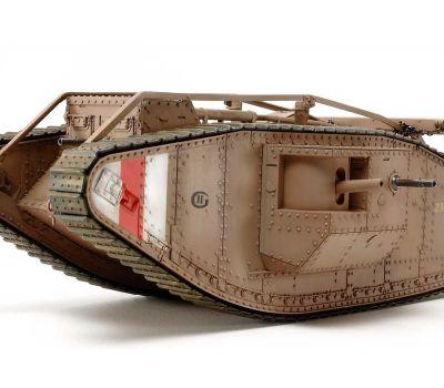 Английский танк Mk.IV Male с 5 фигурами, в комплекте моторчик с редуктором масштаб 1:35 Tamiya 30057, фото 5