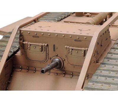 Английский танк Mk.IV Male с 5 фигурами, в комплекте моторчик с редуктором масштаб 1:35 Tamiya 30057, фото 8
