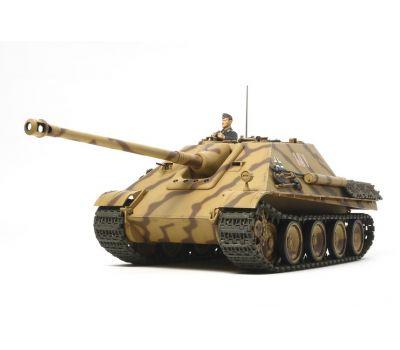 Jagdpanther с 4 фигурами масштаб 1:25 Tamiya 30607, фото 1