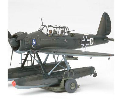 Arado Ar196A с 2 фигурами пилотов масштаб 1:48 Tamiya 37006, фото 3