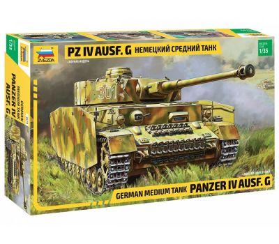 Немецкий средний танк Pz IV Ausf. G масштаб 1:35 ZV3674, фото 1