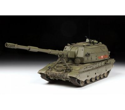 Российская 152-мм гаубица 2С35 Коалиция-СВ масштаб 1:35 ZV3677, фото 7