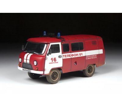 УАЗ 3909 Пожарная служба масштаб 1:43 ZV43001, фото 3