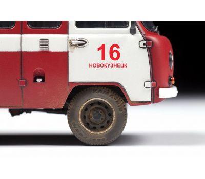 УАЗ 3909 Пожарная служба масштаб 1:43 ZV43001, фото 4