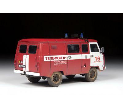УАЗ 3909 Пожарная служба масштаб 1:43 ZV43001, фото 5
