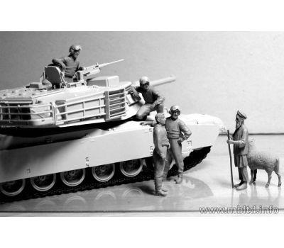 Американские танкисты. Афганистан. масштаб 1:35 MB35131, фото 4