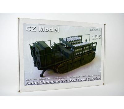 Saint-chamond tracked load carrier 1-2МВ (смола) масштаб 1:35 CZ35018, фото 1