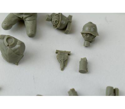 Пулеметная команда (Machine gun team) 1МВ (смола) масштаб 1:35 MM35120, фото 10