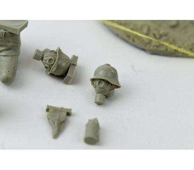 Пулеметная команда (Machine gun team) 1МВ (смола) масштаб 1:35 MM35120, фото 7