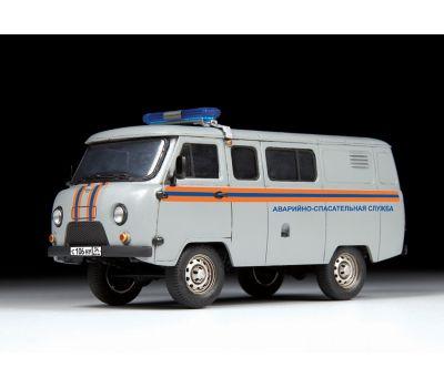 УАЗ 3909 Аварийно-спасательная служба масштаб 1:43 ZV43002, фото 4