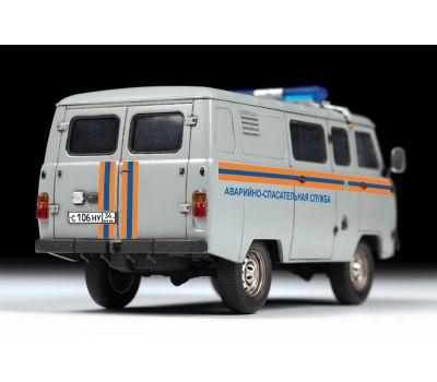 УАЗ 3909 Аварийно-спасательная служба масштаб 1:43 ZV43002, фото 5