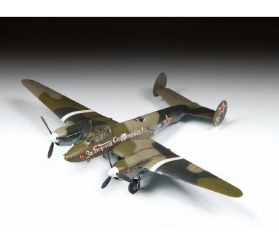 Советский пикирующий бомбардировщик Пе-2 масштаб 1:72 ZV7283, фото 3