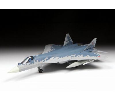 Российский истребитель пятого поколения Су-57 масштаб 1:72 ZV7319, фото 4